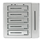 proware-nas-m501-silver-storage-front
