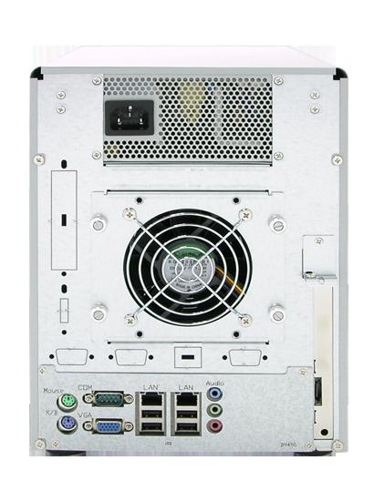 proware-desktop-storage-dn-500-sata-nas-rear